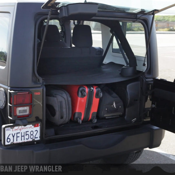 GPCA Jeep Wrangler Cargo Cover in California