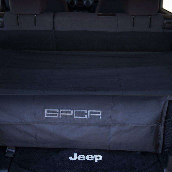 GPCA Jeep Trunk freedom pack with cover and organizer