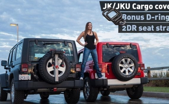 GPCA Jeep Wrangler 2DR 4DR freedom pack