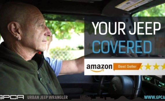 GPCA Jeep Wrangler Cargo cover Amazon best seller accessories