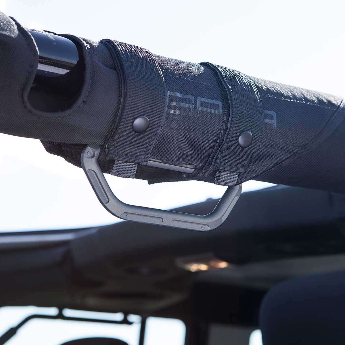 Jeep Wrangler GP-Grip grab handle gray