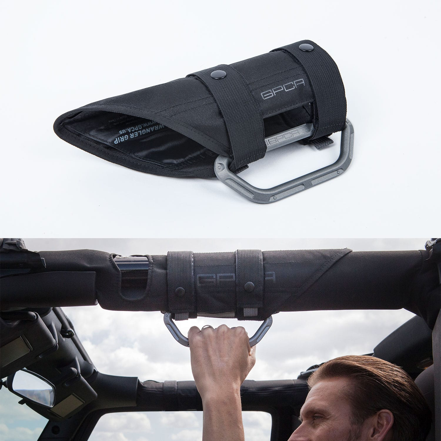Jeep Wrangler GP-Grip LITE grab handle