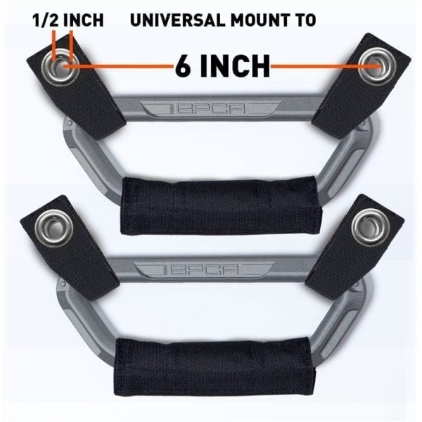 GP Jeep headrest grab handle universal mount