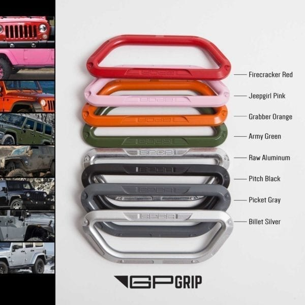 GP-Grip color handle -all-aluminum