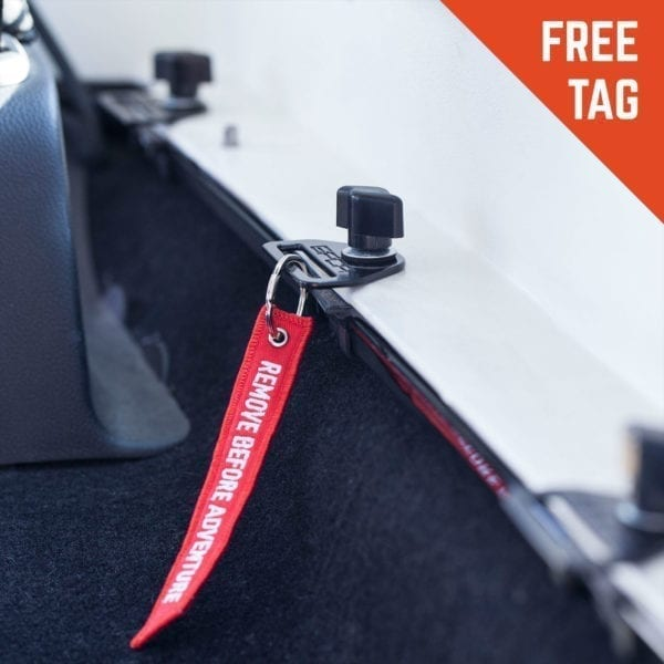 GP d-plate red tag remove before adventure